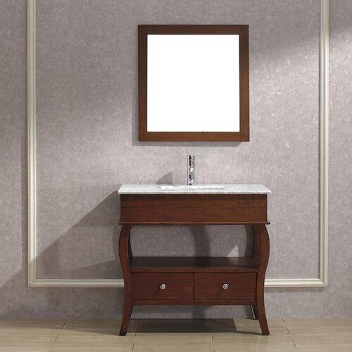 "Bauhaus Bath Winzer 36"" Single Bathroom Vanity Set"