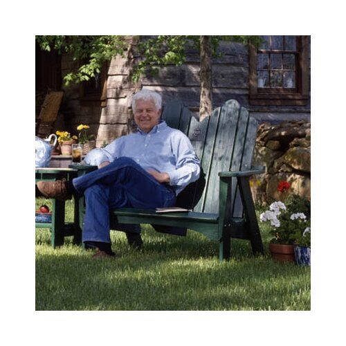 Uwharrie Chair Original Wood Garden Bench
