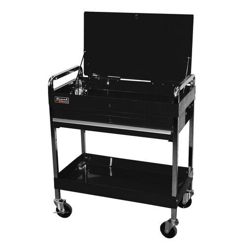 "Homak Professional 32"" Wide 1 Drawer Service Cart"