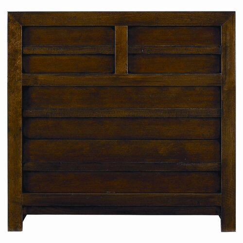 Stanley Furniture Modern Craftsman Prairie School 4 Drawer  Bachelor's Chest
