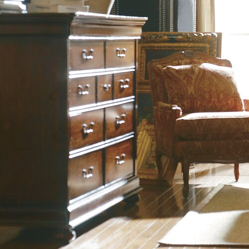 Stanley Furniture The Classic Portfolio Louis Philippe 9 Drawer Dressing Chest