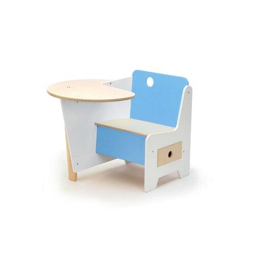 """Offi Mini-Drawer 21"""" Wood Desk"""