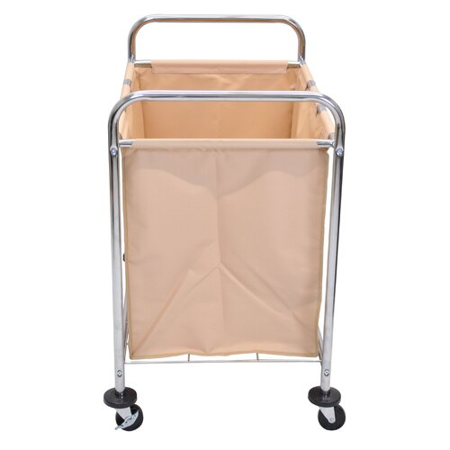 "Luxor 36.5"" Industrial Laundry Cart"