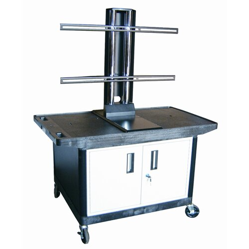 Luxor Mobile Plasma / LCD Stand with Cabinet