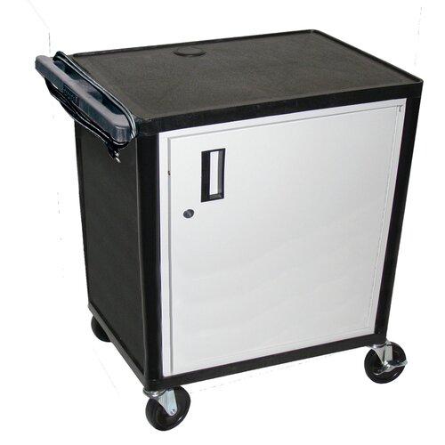 Luxor LP Series AV Cart with Locking Table