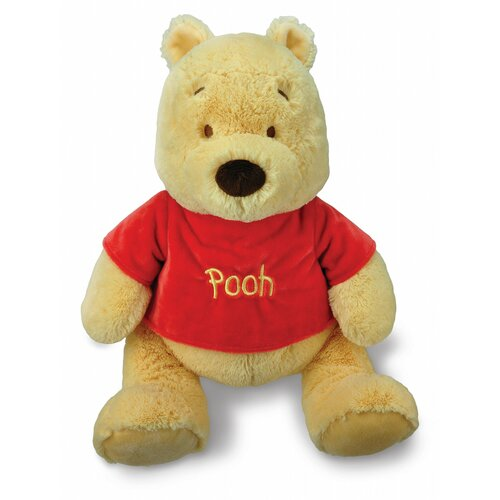 Pooh Plush with Large Red Shirt
