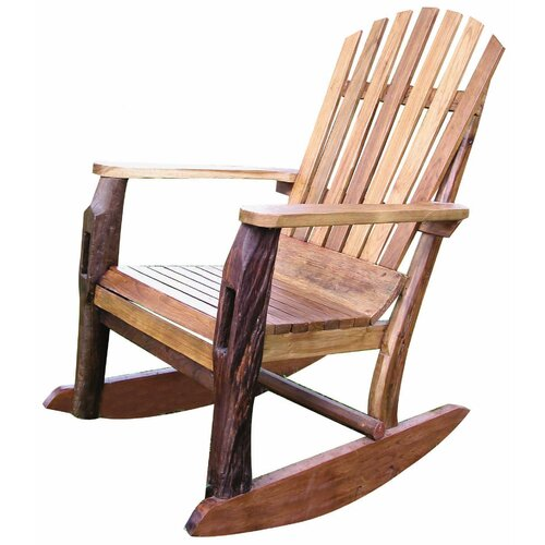 Groovystuff Adirondack Rocking Chair