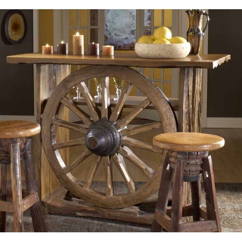 Groovystuff Prairie Frontier Bar Table