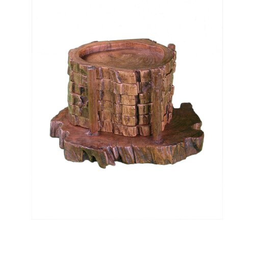 Groovystuff Wood Coasters (Set of 6)