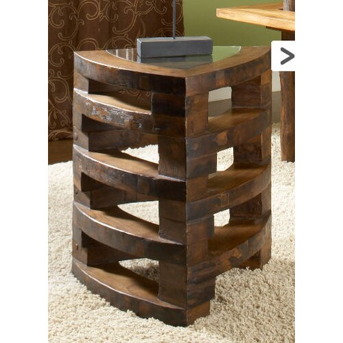 University Hall Stacking End Table