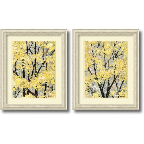 'Early Spring' by H. Alves 2 Piece Framed Painting Print Set