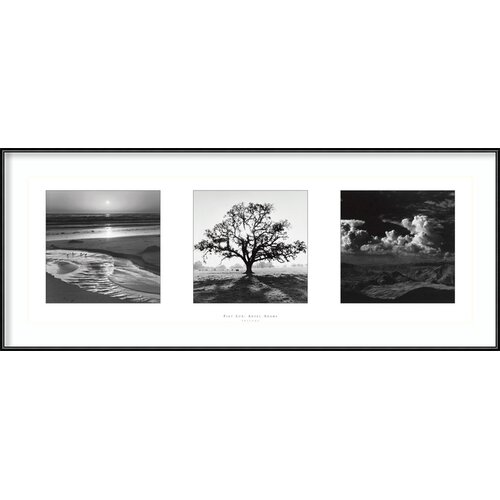 Amanti Art 'Fiat Lux- Trilogy' by Ansel Adams Framed Photographic Print