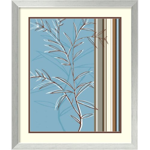 Amanti Art 'Linear Reflection II' by Jo Parry Framed Graphic Art