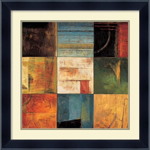 Amanti Art 'Diversified II' by Kurt Morrison Framed Painting Print