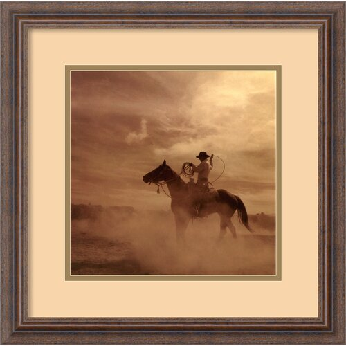 Amanti Art 'On the Range II' by Adam Jahiel Framed Photographic Print