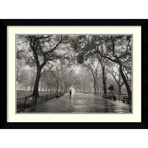 'Poet's Walk' by Henri Silberman Framed Photographic Print