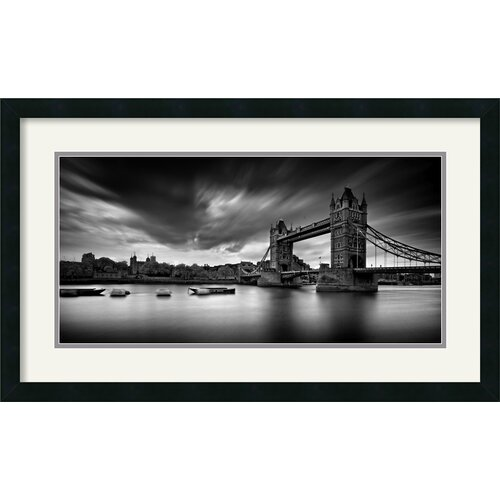 Amanti Art 'Tower Bridge' by Marcin Stawiarz Framed Photographic Print