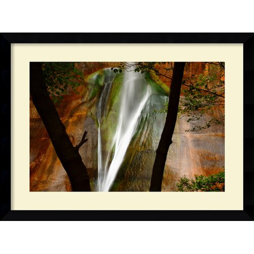 'Calf Creek Falls' by Andy Magee Framed Photographic Print