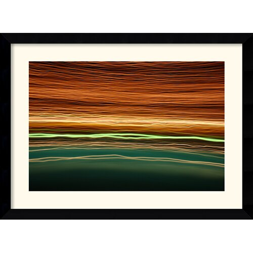 Amanti Art 'Pool 360' by Andy Magee Framed Graphic Art