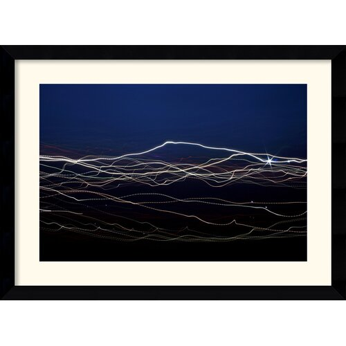 Amanti Art 'July 4th, 2009 360' by Andy Magee Framed Graphic Art