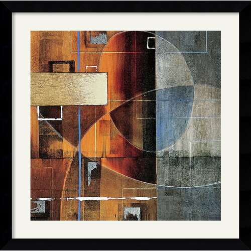 Amanti Art 'Theory in Form' by Darian Chase Framed Graphic Art