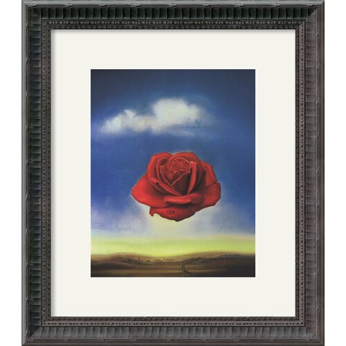 Amanti Art 'The Rose' by Salvador Dali Framed Painting Print
