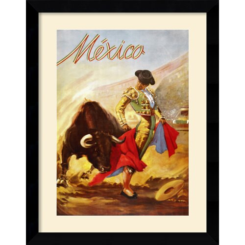 Amanti Art Matador I Framed Art Print Framed Vintage Advertisement