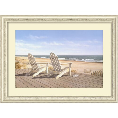 Amanti Art 'Point East' by Daniel Pollera Frame Painting Print