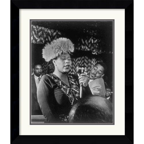 'Ella Fitzgerald: The Golden Age of Jazz' by William P. Gottlieb Framed Photographic Print