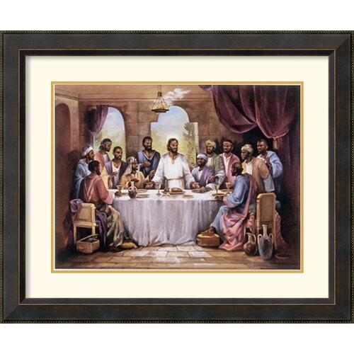 amanti art 39 the last supper 39 by quintana framed painting. Black Bedroom Furniture Sets. Home Design Ideas