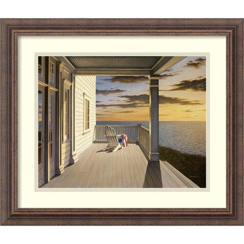 Amanti Art 'Last Light' by Daniel Pollera Framed Painting Print