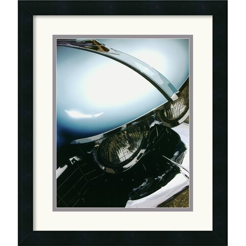 Amanti Art 'Tail Fins and Two Tones VIII' by Mike Patrick Framed Photographic Print