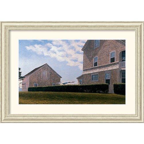 Amanti Art 'Spring House Hill' by Joseph Reboli Framed Painting Print