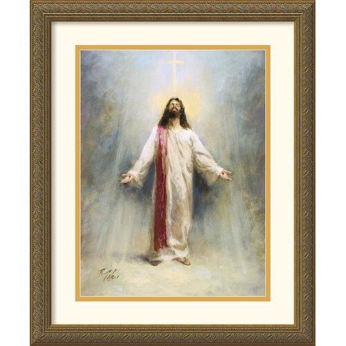 'Eternal Life' by Richard Judson Zolan Framed Painting Print