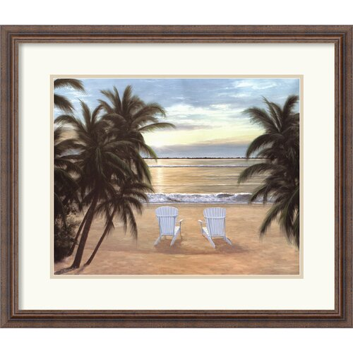 'Life is Good' by Diane Romanello Framed Painting Print