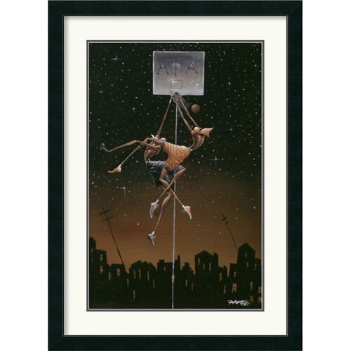 Amanti Art 'Alpha Fly Slam' by Frank Morrison Framed Graphic Art