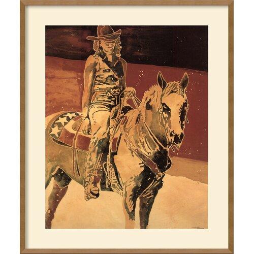 Amanti Art 'Gentle Spirit' by Michael Swearngin Framed Painting Print