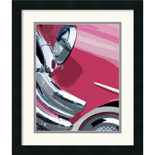 Amanti Art 'Tail Fins and Two Tones I' by Mike Patrick Framed Painting Print