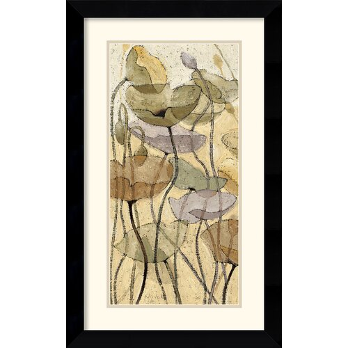 Amanti Art 'Fluidity II' by Shirley Novak Framed Painting Print