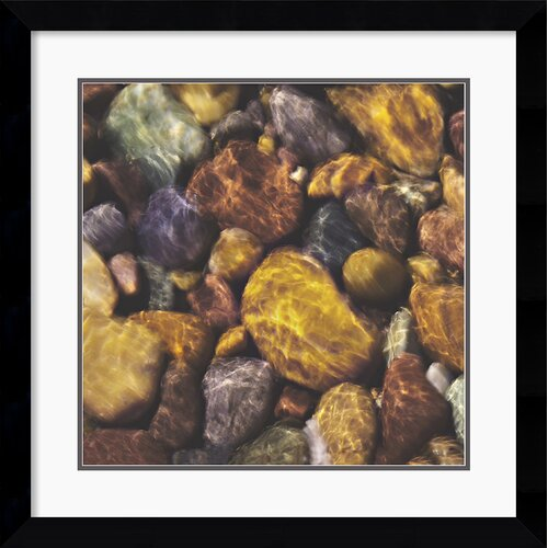 'River Rocks' by Will Connor Framed Photographic Print