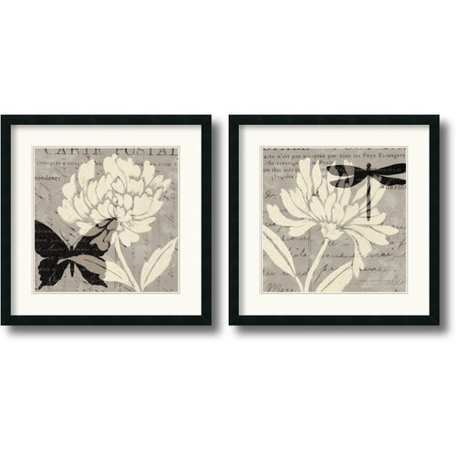 Amanti Art 'Natural Prints' by Daphne Brissonnet 2 Piece Framed Graphic Art Set