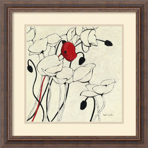 'Filament De Vie I' by Shirley Novak Framed Painting Print
