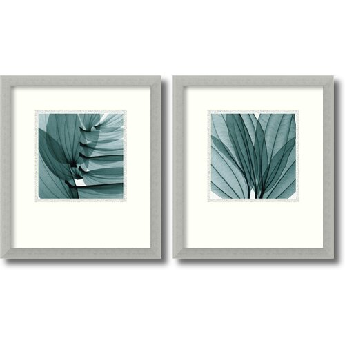 'Silver Lilies' by Steven N. Meyers 2 Piece Framed Photographic Print Set (Set of 2) ...