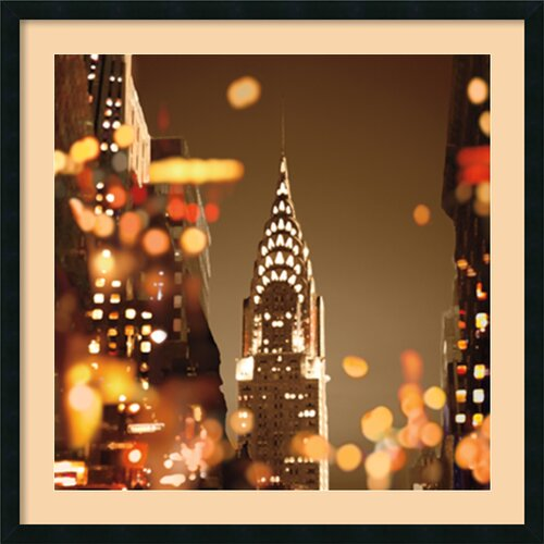 'City Lights-New York' by Kate Carrigan Framed Photographic Print
