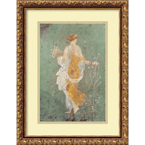 'Primavera' by Pompeian Framed Painting Print