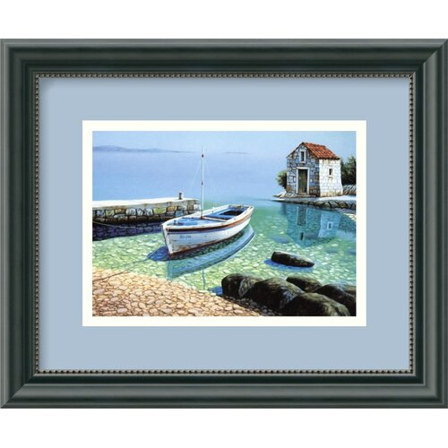 Amanti Art 'Morning Reflections' by Frane Mlinar Framed Photographic Print