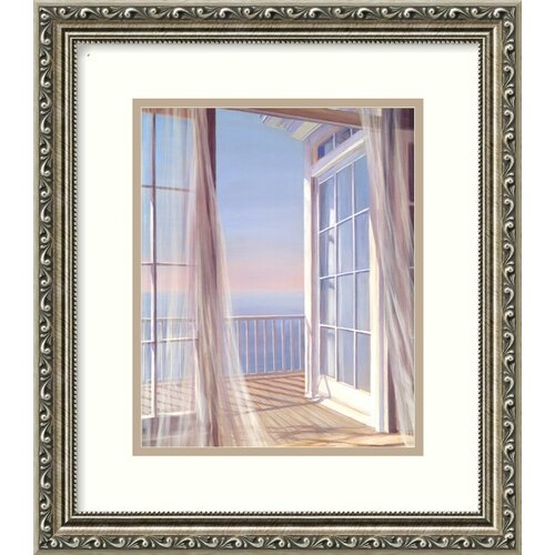 'Sea Breeze I' by Carol Saxe Framed Painting Print
