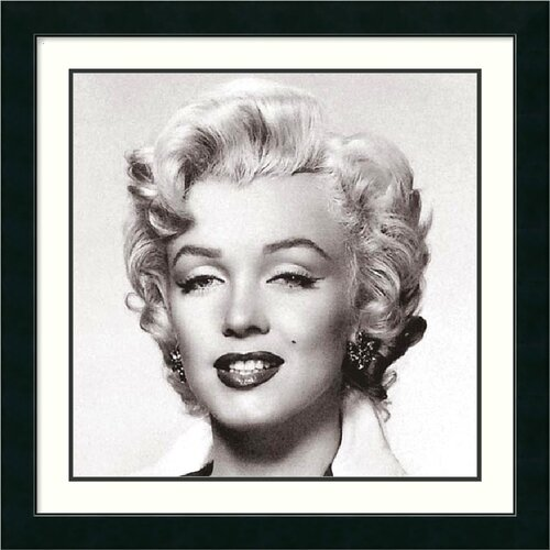 Amanti Art 'Marilyn Monroe Portrait' by Anonymous Framed Photographic Print