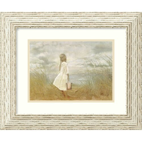 Amanti Art 'There's Always Tomorrow' by Betsy Cameron Framed Painting Print