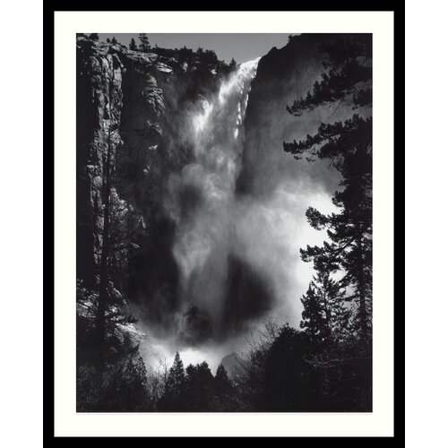 Amanti Art 'Bridal Veil Falls' by Ansel Adams Framed Photographic Print